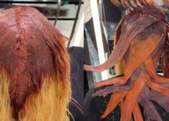 Парикмахер странным образом красит волосы своих клиентов, но результат впечатляет своей красотой